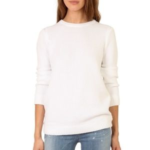 RAG & BONE Rita Cotton Crew Neck Sweater